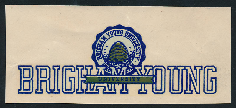 BYU Brigham Young University Decal