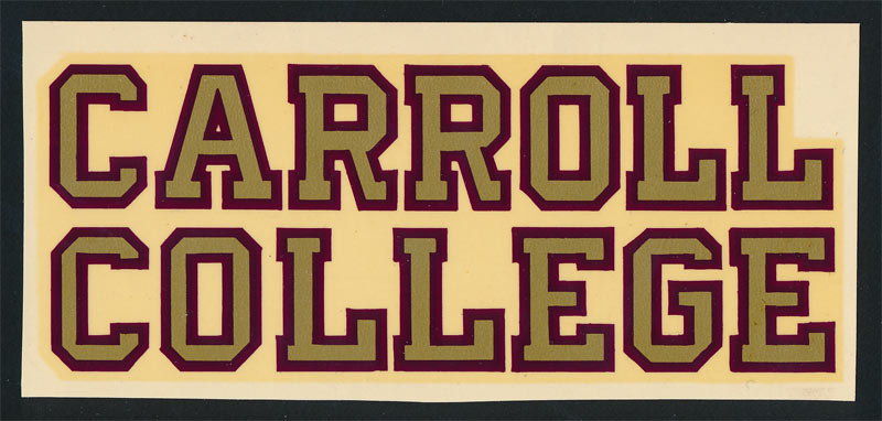 Carroll College Fighting Saints Decal