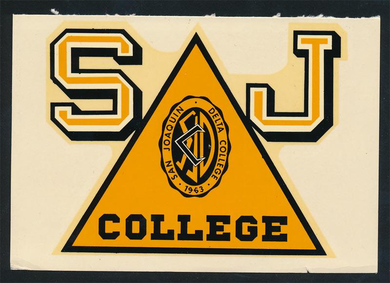 San Joaquin Delta College Mustangs Decal