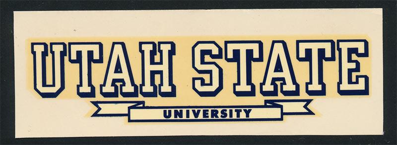 Utah State University Aggies Decal