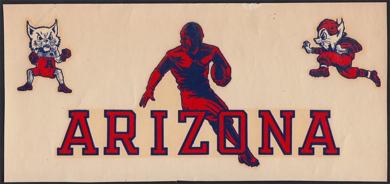 University of Arizona Football and Boxing Decal