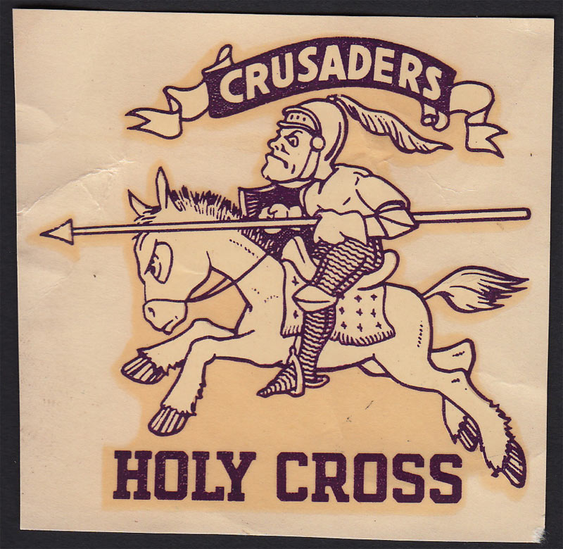 College of the Holy Cross Decal