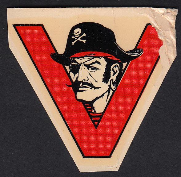Ventura Junior College Pirates Decal