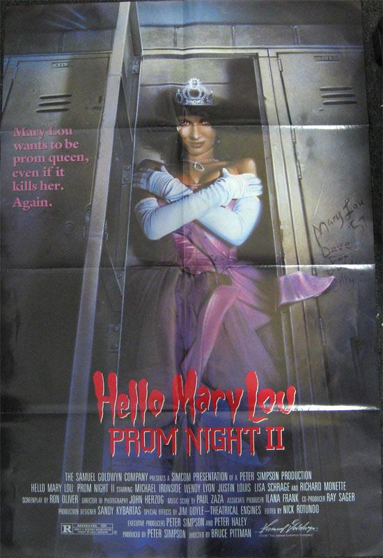 Hello Mary Lou Prom Night II Movie Poster