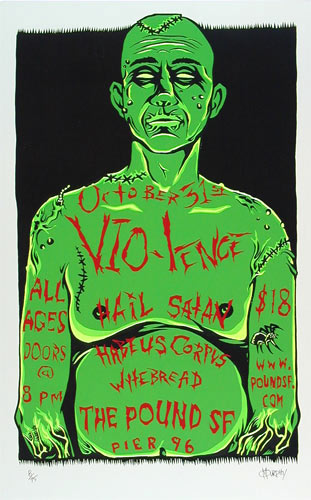 Mike Murphy Vio-Lence Poster