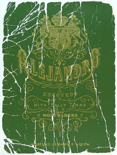 Aesthetic Apparatus Alejandro Escovedo Poster