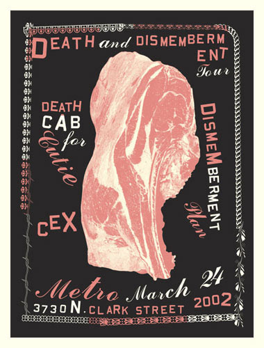 Aesthetic Apparatus Death Cab For Cutie Poster