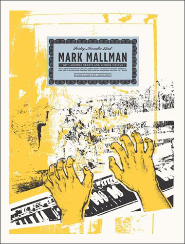 Aesthetic Apparatus Mark Mallman Poster