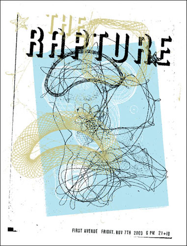 Aesthetic Apparatus The Rapture Poster