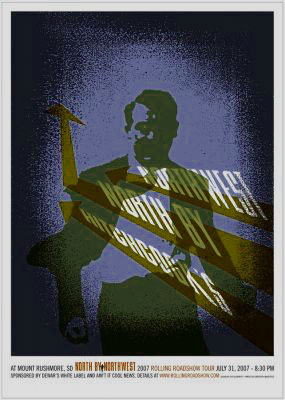 Jeff Kleinsmith North by Northwest Movie Poster