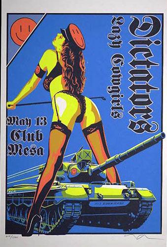 Marco Almera Dictators Poster