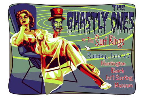 Marco Almera Ghastly Ones Poster