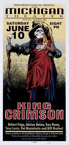 Mark Arminski King Crimson Poster