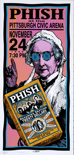 Mark Arminski Phish Handbill