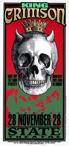 Mark Arminski King Crimson Handbill