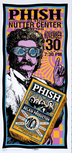 Mark Arminski Phish Poster