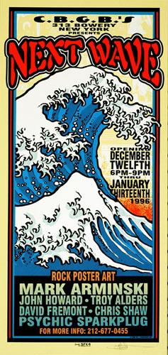 Mark Arminski Next Wave Handbill