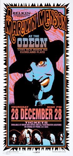 Mark Arminski Marilyn Manson Poster