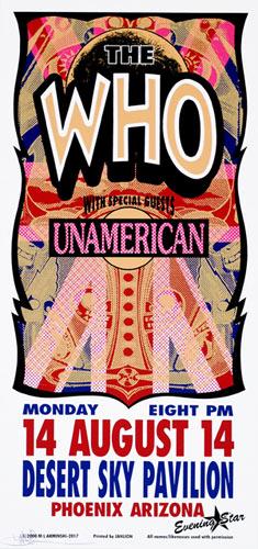 Mark Arminski The Who Handbill
