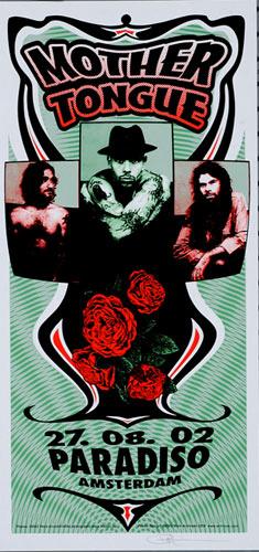 Mark Arminski Mother Tongue Handbill
