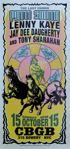 Mark Arminski Patti Smith Poster