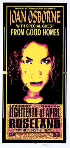 Mark Arminski Joan Osborne Handbill