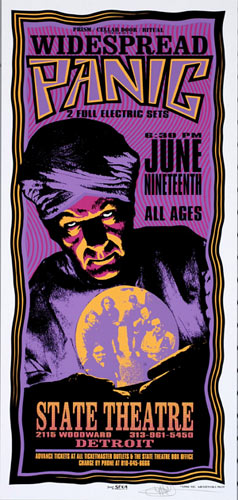 Mark Arminski Widespread Panic Poster