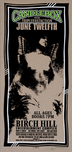 Mark Arminski Candlebox Handbill