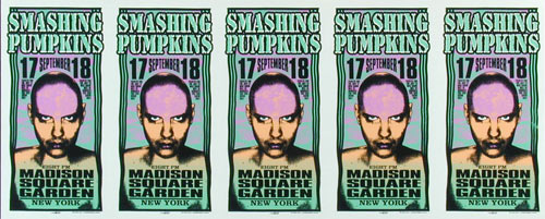 Mark Arminski Smashing Pumpkins Uncut Handbill Sheet