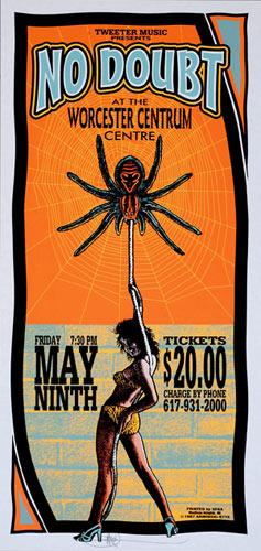 Mark Arminski No Doubt Poster