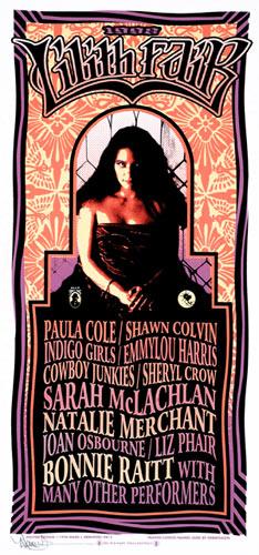Mark Arminski Lilith Fair Handbill
