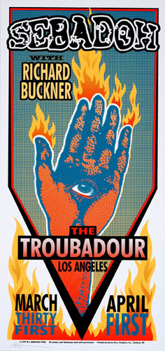 Mark Arminski Sebadoh Handbill