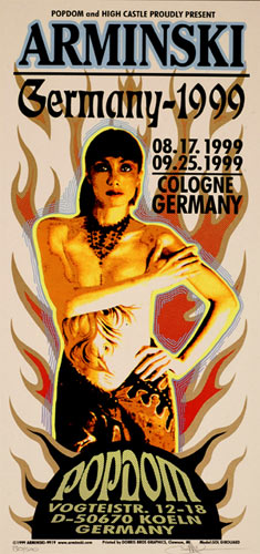 Mark Arminski Arminski Germany Show Poster