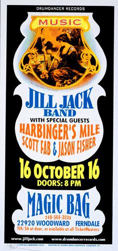 Mark Arminski Jill Jack Band Handbill