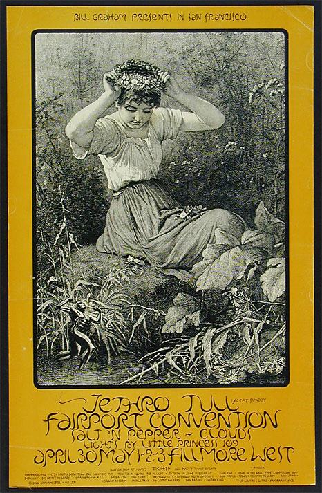 David Singer BG 231 1st Printing Bargain Fillmore Poster
