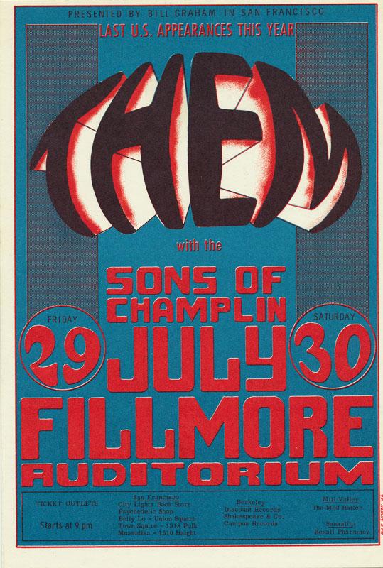 BG # 20 Them Fillmore postcard - stamp back BG20