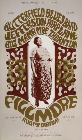 BG # 31-3 Butterfield Blues Band Fillmore Poster BG31
