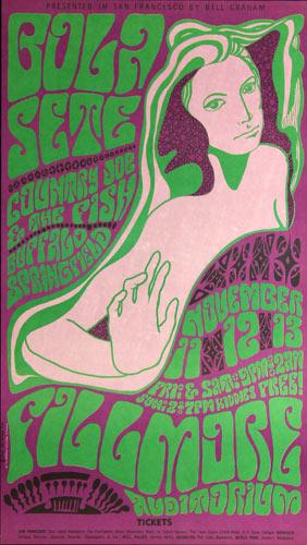 BG # 36-3 Bola Sete Fillmore Poster BG36