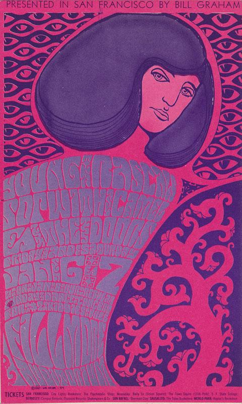 BG # 44-2 Young Rascals Fillmore Poster BG44