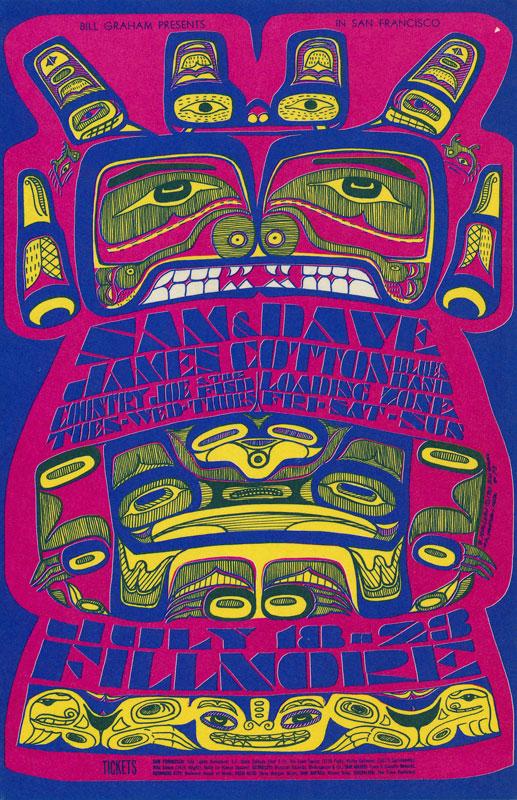 BG # 73-1 Sam and Dave Fillmore Poster BG73