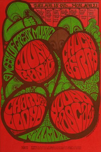 BG # 78 Count Basie Fillmore postcard BG78