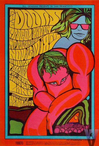 BG # 93-1 Doors Fillmore Poster BG93