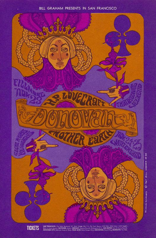 BG # 94-1 Donovan Fillmore Poster BG94