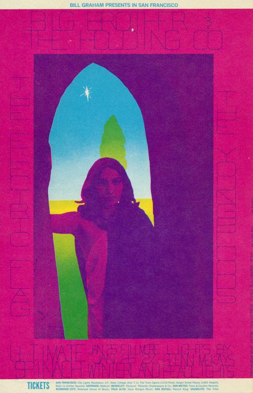 BG # 104-1 Big Brother & the Holding Co. Fillmore Poster BG104
