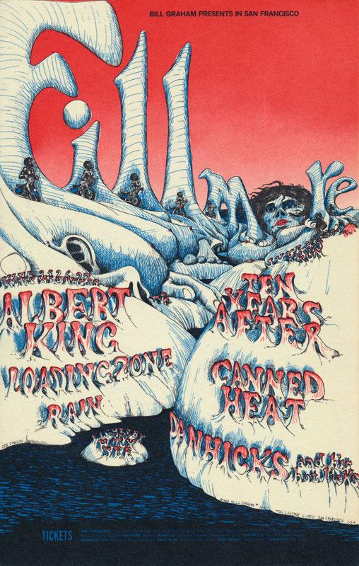 BG # 126-1 Albert King Fillmore Poster BG126