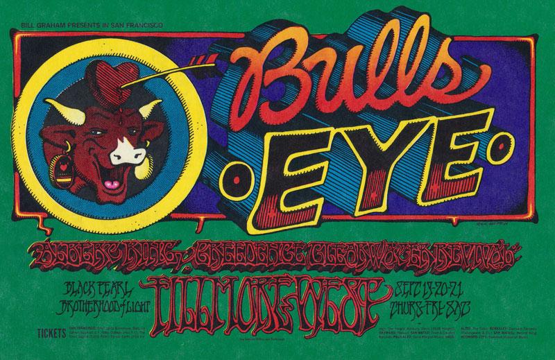 BG # 137 Albert King Fillmore postcard - ad back BG137
