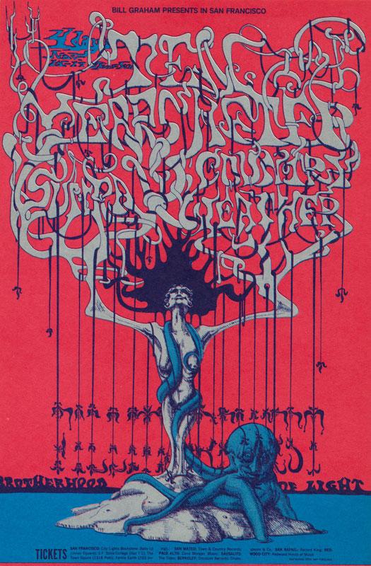 BG # 145-1 Ten Years After Fillmore Poster BG145