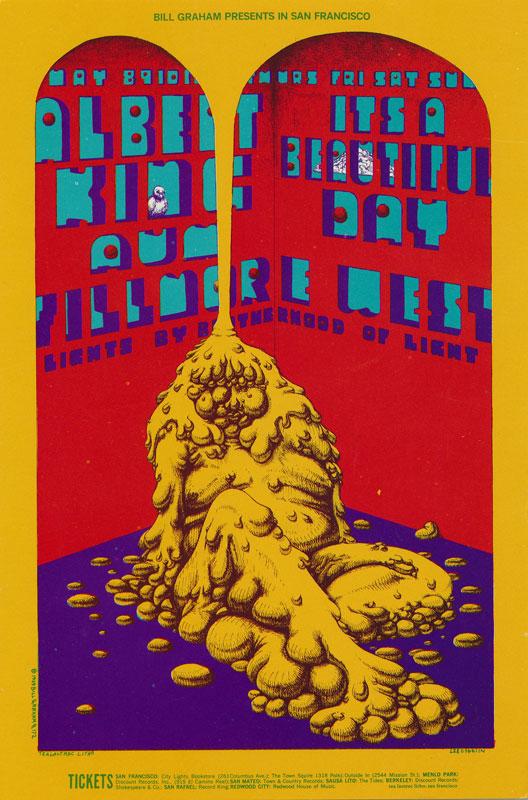 BG # 172-1 Albert King Fillmore Poster BG172