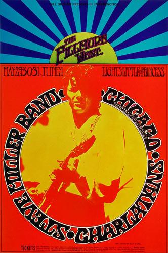 BG # 175-1 Steve Miller Blues Band Fillmore Poster BG175
