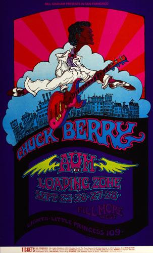 BG # 193-1 Chuck Berry Fillmore Poster BG193